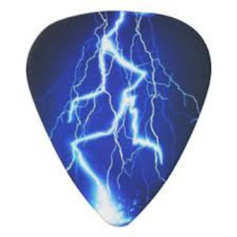 Rock Blue Lightning