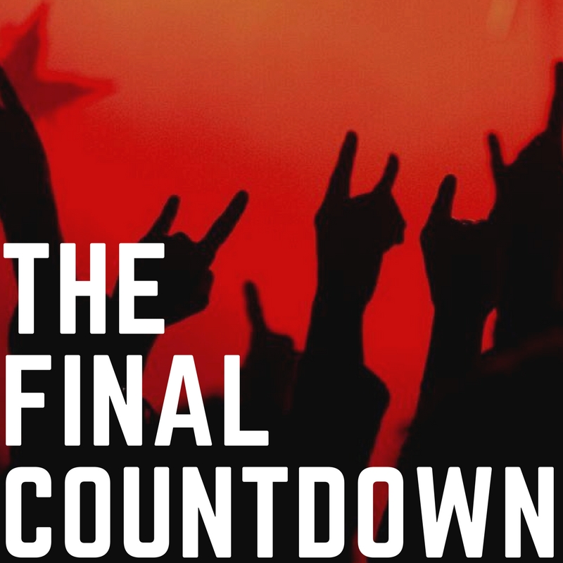 THE FINAL COUNTDOWN - <font style=&#34;text-transform: capitalize;&#34;>Open for vocals! </font>